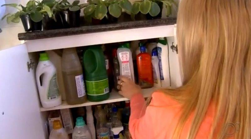 Intoxicação por produtos de limpeza